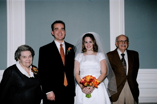From left to right: Ruth Hopkins, Jonathan and Kate Allen, Ligget Hopkins
